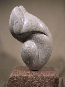 Modern Stone Sculpture Granite Art Natural Stone Carving